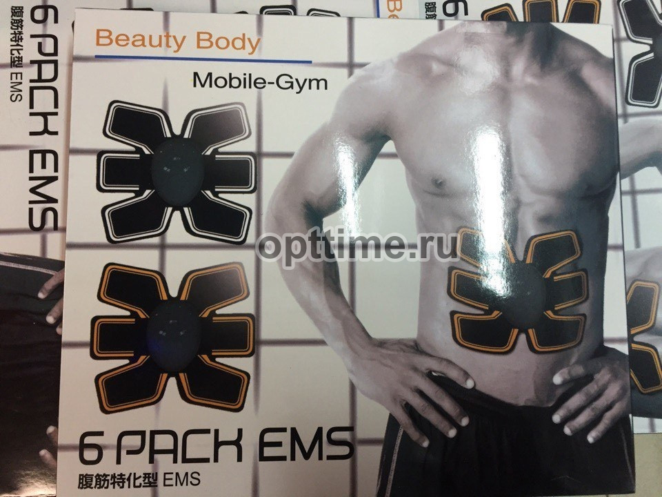 Миостимулятор для мышц живота BEAUTY BODY 6 PACK EMS оптом - 1