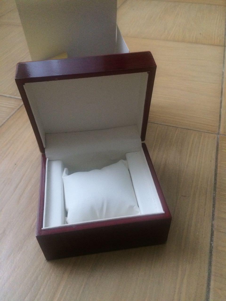 Коробка для часов красное дерево оптом - 1